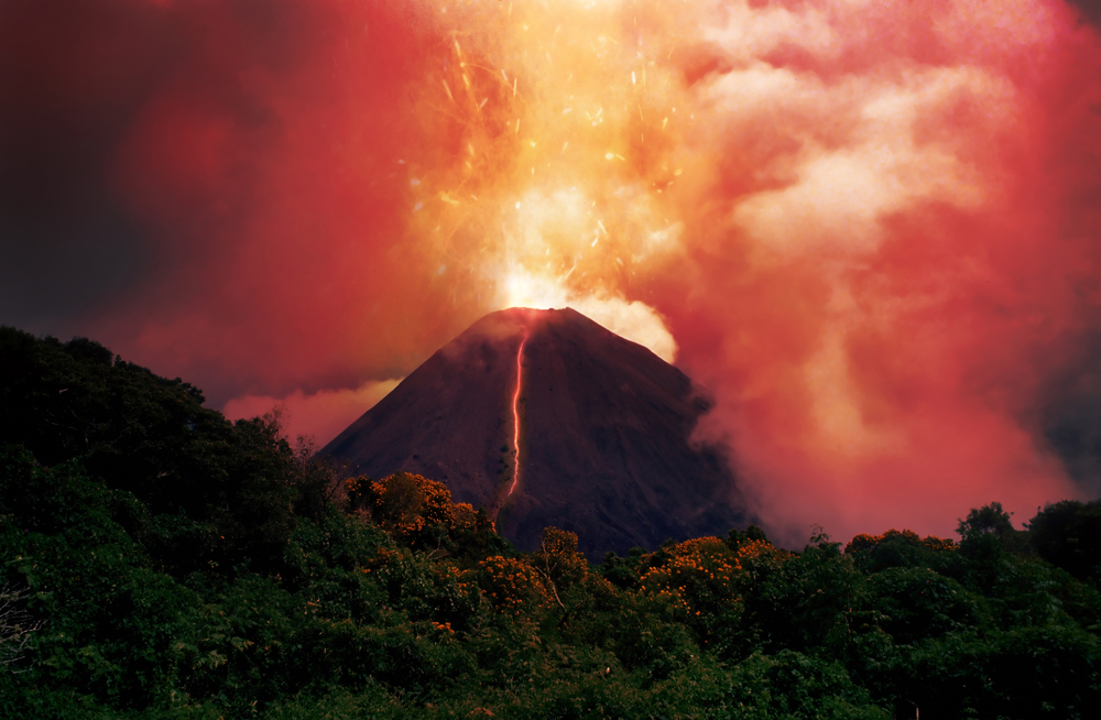 Volcano is one of the main causes of wildfire